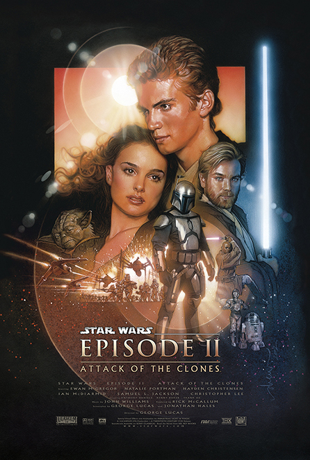 Framed Star Wars: Episode II - Attack Of The Clones