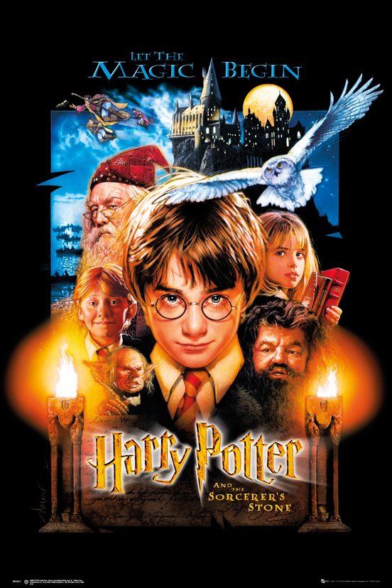 Harry Potter And The Sorcerer's Stone framed poster