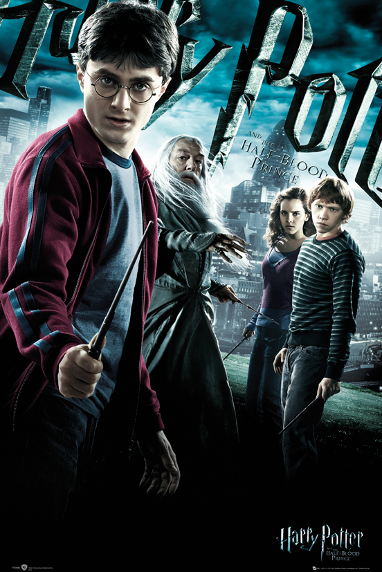 Framed Harry Potter And The Half-Blood Prince