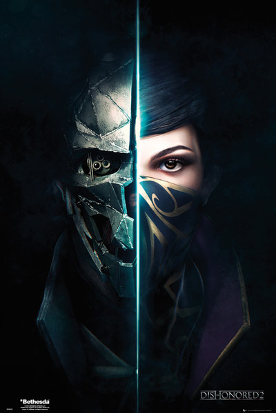 Dishonored 2 framed poster