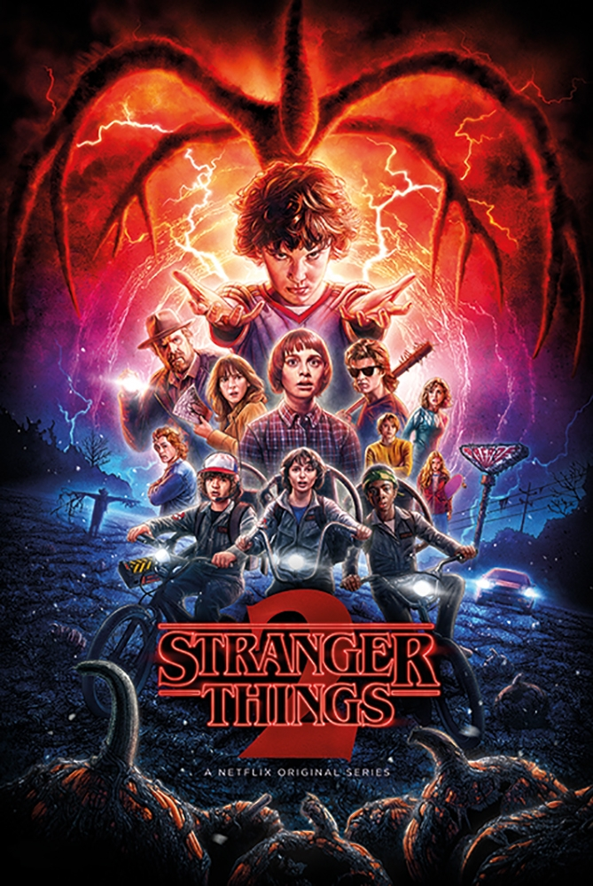Framed Stranger Things 2
