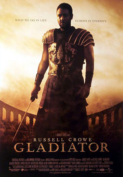 Gladiator framed poster