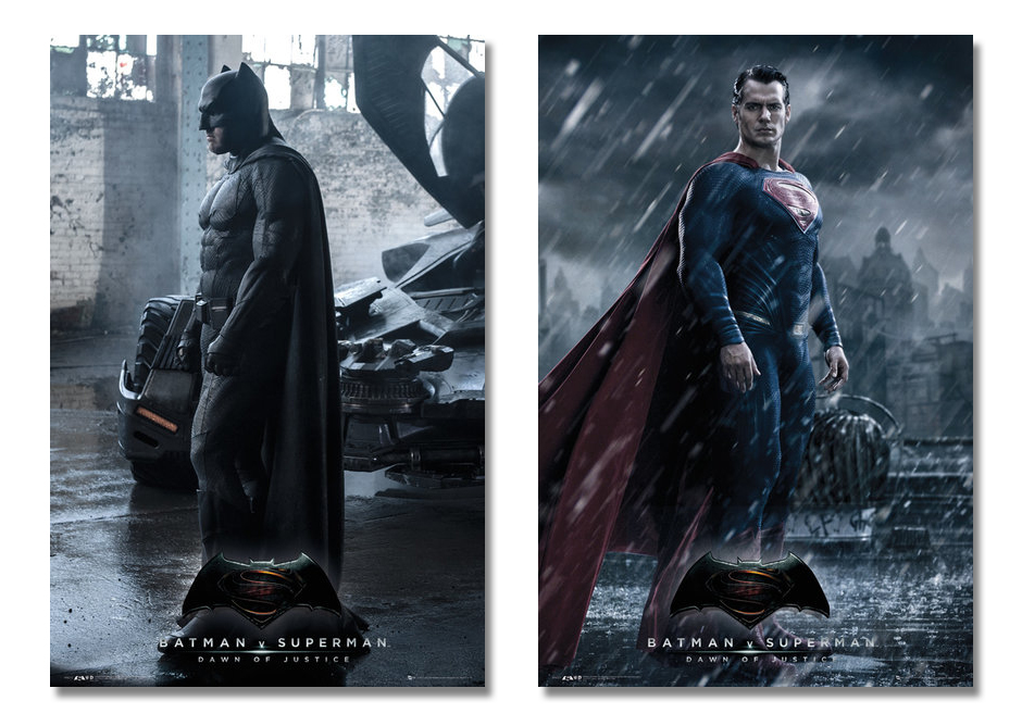 Framed Batman V. Superman: Dawn Of Justice